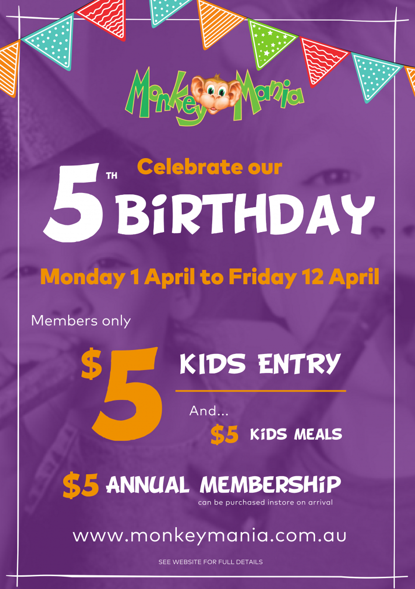 Ryde's 5th Birthday