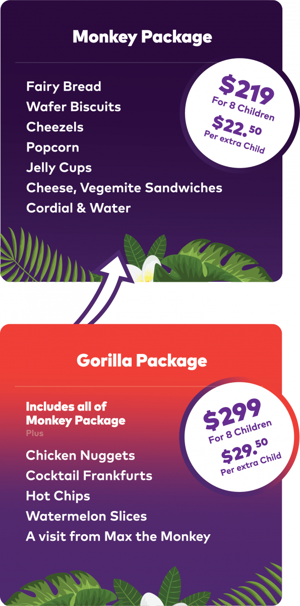 Monkey and Gorilla Package